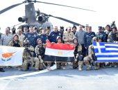 """""""ميدوزا 7"""" تدريب مشترك بين الجيش المصرى واليونانى والقبرصى"""