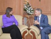 وزيرة الهجرة تستقبل السفير الكندى جيس داتون لبحث التعاون بشأن الجاليات