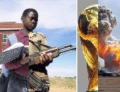 بين العنف والرفاهية.. فنان يعكس معاناة الشعوب بسبب الحرب بدمج الصور × 23 لقطة