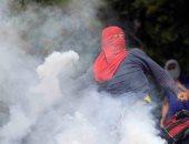 صور.. احتجاجات فى هندوراس ضد رئيس البلاد خوان أورلاندو هرنانديز