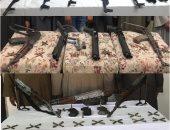 فيديو وصور ..الأمن يداهم 60 بؤرة إجرامية بالمحافظات وضبط 1227 قطعة سلاح نارى