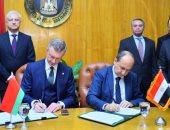 وزيرا تجارة مصر وبيلاروسيا يوقعان البروتوكول الختامى لفعاليات اللجنة المشتركة
