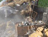 فيديو.. محافظ كفر الشيخ يتابع حملة إزالة التعديات على الأراضى الزراعية