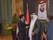 السفير اليمنى يشارك فى احتفالات العيد الوطنى للإمارات ويؤكد قوة العلاقات الثنائية