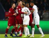 ترتيب مجموعة ليفربول بدورى الأبطال بعد الهزيمة أمام باريس سان جيرمان