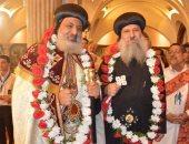 كنائس حدائق القبة تحتفل باستقبال الأنبا ميخائيل وتكريم أسقف دمياط