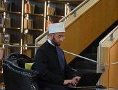 """أسامة الأزهرى يلقى خطبة الجمعة بمسجد الفتاح العليم عن """"قيمة الوطن فى الإسلام"""""""