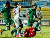 """الغندور يتغاضى عن طرد محمود علاء أمام المصرى تعرف على السبب.. """"فيديو"""""""