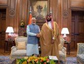 ولي العهد السعودى: الإرهاب مصدر قلق مشترك مع الهند