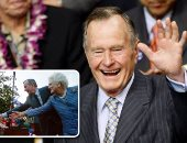 البيت الأبيض يعلن الأربعاء 5 ديسمبر يوم حداد وطنى لتشييع جثمان الرئيس الأسبق جورج بوش.. ترامب وميلانيا يشاركا فى الجنازة بالكاتدرائية الوطنية.. والجنازة الرسمية هى الأولى منذ وفاة جيرالد فورد عام 2006