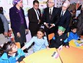 وزيرا الاستثمار والتعليم يتفقدان سير العمل بالمدرسة اليابانية بالعبور