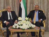 صور.. عدلى منصور يزور سفارة الإمارات للتهنئة باليوم الوطنى الـ47
