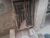 لوحة كهرباء مفتوحة بشارع إسلام النقلى بالعمرانية تعرض حياة المواطنين للخطر
