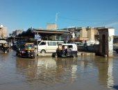 صور.. توقف حركة الصيد بكفر الشيخ لهطول الأمطار وهبوب الرياح وارتفاع الأمواج