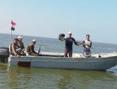 صور.. إزالة تعديات وضبط المخالفات فىحملة على بحيرة البرلس