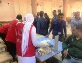 فحص 15 ألف طالب بجامعة المنيا ضمن حملة 100 مليون صحة