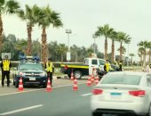ضبط 5961 مخالفة مرورية أثناء القيادة على الطرق السريعة خلال 24 ساعة
