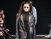 صور.. كايا جربر تخطف الأنظار بمشاركتها فى عرض أزياء Alexander Wang