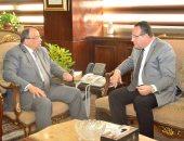 وزير التنمية المحلية يجتمع بمحافظى جنوب سيناء والأسكندرية