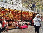 """""""اليوم السابع"""" يرصد أسواق الكريسماس فى مدينة مانشستر الإنجليزية"""