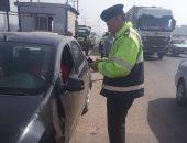 ضبط 6 سائقين لتعاطيهم المخدرات أثناء القيادة على الطرق السريعة بالمنيا