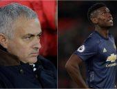 أخبار مانشستر يونايتد اليوم عن انتقاد مورينيو لاعبيه قبل مواجهة أرسنال