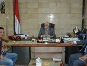 محافظ جنوب سيناء يستقبل مدير المشروعات بالشركة الوطنيه للمقاولات لمتابعة تنفيذ بعض المشروعات بجنوب سيناء