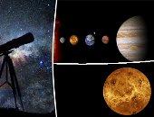 من عطارد لبلوتو.. اعرف حجم كواكب النظام الشمسى (صور)
