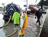 محافظة القاهرة تخصص أرقاما لتلقى شكاوى المواطنين عن تجمع مياه الأمطار