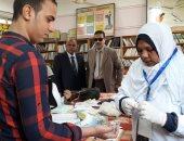 صور.. المدارس الثانوية والفنية بالقليوبية تواصل حملة القضاء على فيروس C