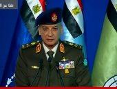 وزير الدفاع يزور المرضى ومصابى القوات المسلحة بالمجمع الطبى بكوبرى القبة