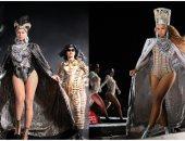 آخرها أجنحة حورس.. كم مرة ظهرت بيونسيه بملابس على الطريقة الفرعونية ؟