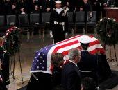 مراسم حفل تأبين الرئيس الأمريكى الأسبق جورج بوش الأب