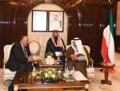 شكرى يبحث مع رئيس وزراء الكويت النتائج الإيجابية لبرنامج الإصلاح الاقتصادى