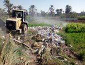 فيديو.. إزالة 30 حالة تعدٍ على أرض زراعية بقرية العدوة بالفيوم