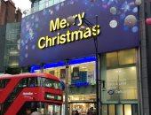 """صور.. العاصمة البريطانية لندن تتزين لاستقبال احتفالات """"الكريسماس"""""""