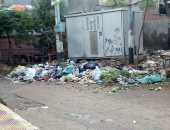 قارئ يشكو استمرار تراكم القمامة بقرية ميت خميس بمحافظة الدقهلية