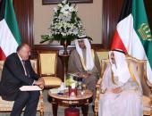 """أمير الكويت يؤكد لـ""""وزير الخارجية"""" استمرار موقف بلاده الداعم لمصر"""