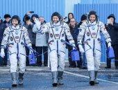 العملية تمت بنجاح.. وصول 3 رواد إلى محطة الفضاء الدولية × 10 صور