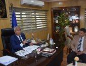 فيديو.. محافظ أسوان يلتقى برئيس مجلس إدارة شركة غاز مصر
