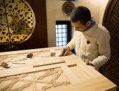 بيت جميل يفتتح المعرض الرابع لمركز دراسة الفنون التقليدية بـ 300 عمل فنى