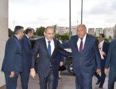 المتحدث باسم وزارة الخارجية ينشر صور لقاء شكرى مع نظيره الأردنى