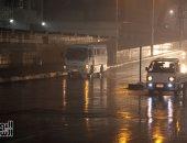 أمطار غزيرة على القاهرة ورعدية فى المحافظات
