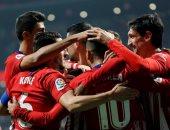 أتلتيكو مدريد يتأهل لثمن نهائي كأس إسبانيا فى المباراة 400 لسيميونى