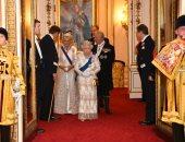 الملكة إليزابيث تستقبل الوفود الدبلوماسية المعتمدة لدى بريطانيا