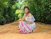 """10 صور للفنانة ريهام حجاج من كواليس """"كارمن"""" أولى بطولاتها المطلقة"""