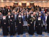 البابا تواضروس يجتمع بممثلى الهيئات الخيرية القبطية بالكاتدرائية المرقسية