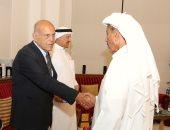 صور.. مجدى يعقوب يقدم العزاء فى شقيق رجل الأعمال الإماراتى خلف الحبتور