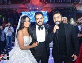 رئيس البرلمان ومحافظ أسوان يشهدان حفل زفاف عماد محمد على ووديان أسامة
