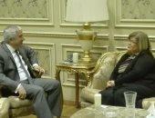"""رئيس """"خارجية البرلمان"""" يلتقى سفيرة سلوفينيا لتعزيز العلاقات البرلمانية والاقتصادية"""